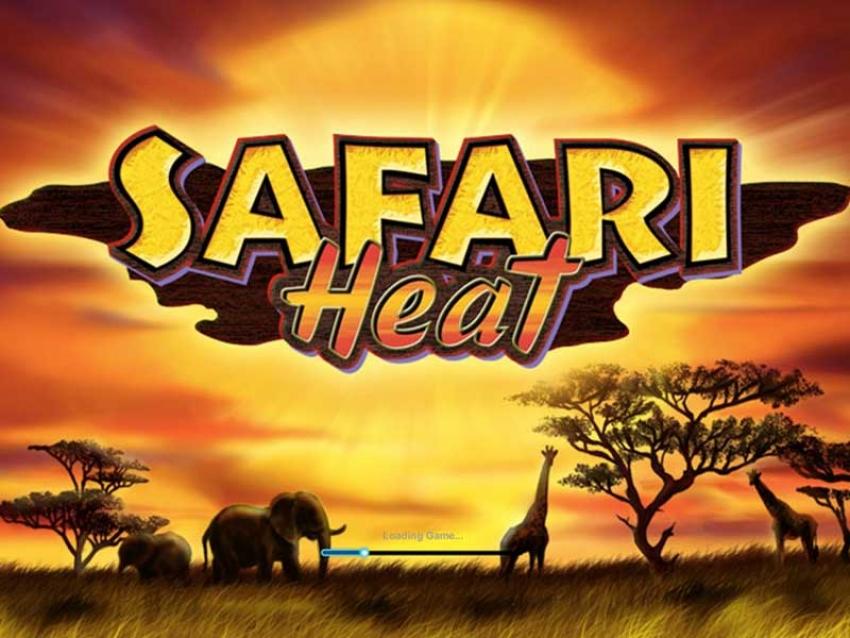 Play Free Safari Heat Online Casino Slot Game