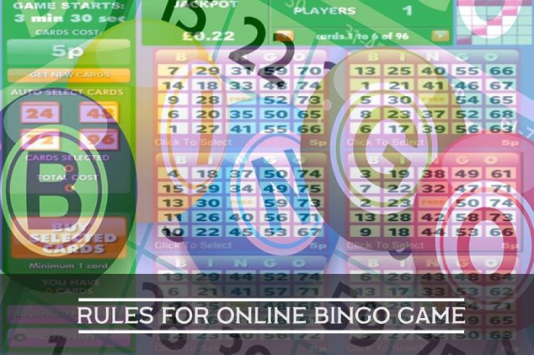 Rules for Online Bingo Game