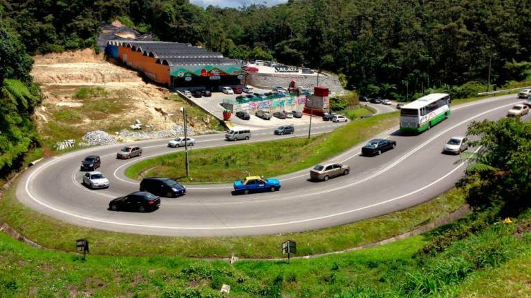 genting highland car racing drifting
