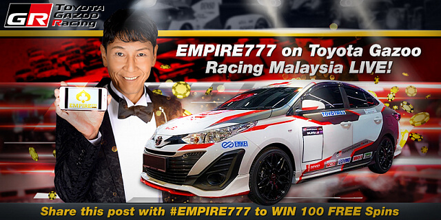toyota gazoo racing festival empire777