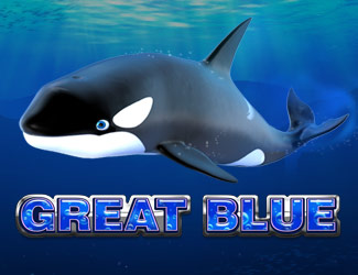 Great Blue is 918Kiss' ocean-themed slot game.