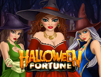 Halloween Fortune is a witch-themed slot game.