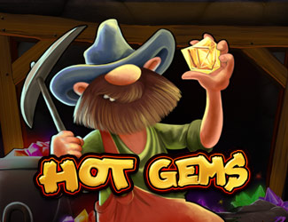 Playtech's Hot Gems is an online casino slot game.