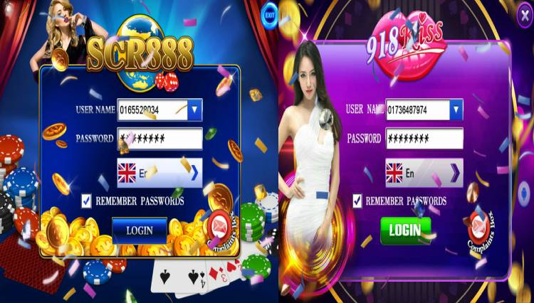 918Kiss/SCR888 is an online casino game provider famous in Malaysia.