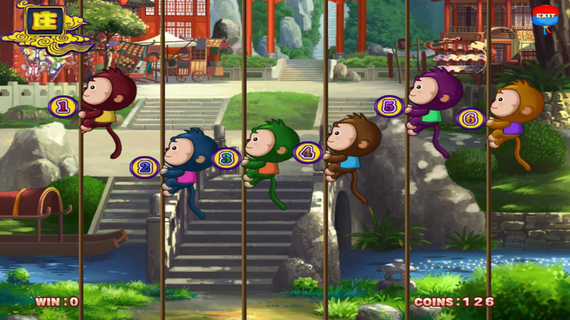 Win playing the Monkey Thunderbolt slot game!