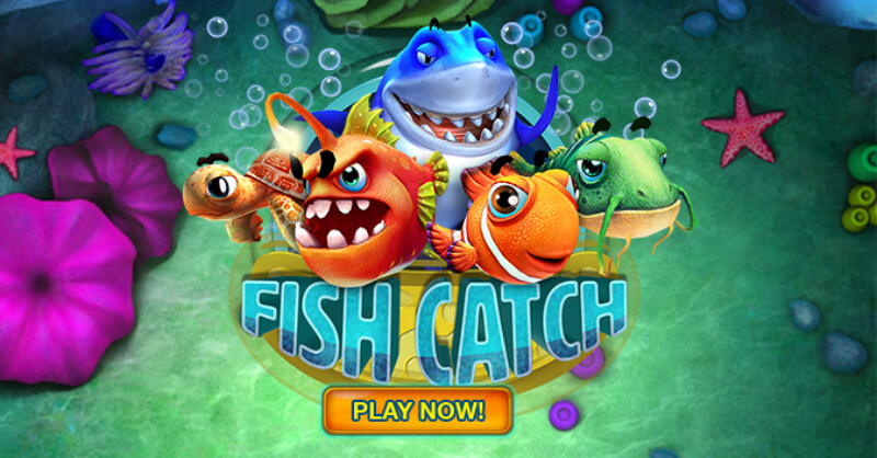 Fish Catch online casino mobile shooting game