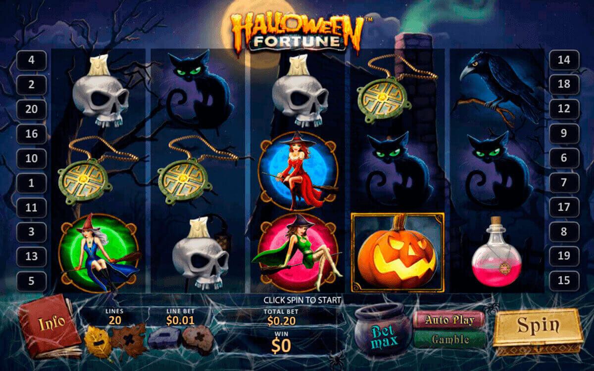 halloween fortune playtech slot