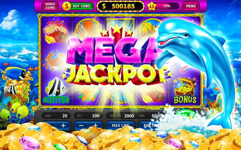 Lucky Dolphin and Dolphin's Luck 2 are both fun online casino slot games