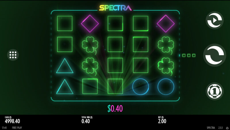 Spectra online slot game empire777