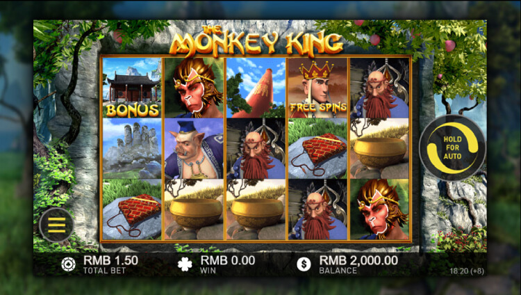 Play the Monkey King at EMPIRE777 Casino