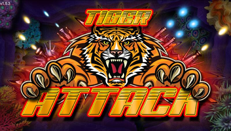 Tiger Attack shooting slot game