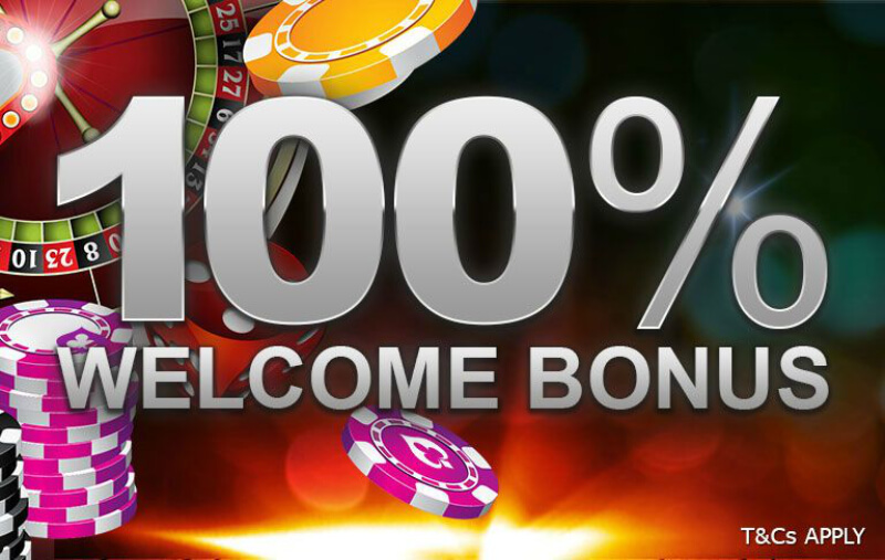 100% welcome bonus
