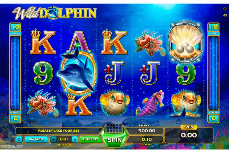 Play Wild Dolphin at EMPIRE777 Casino