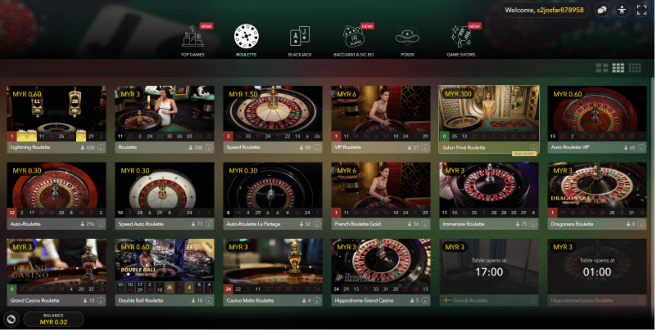 EMPIRE777 Live Casino