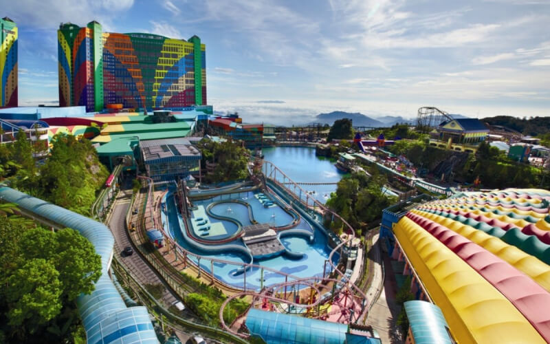 Genting outdoor theme park
