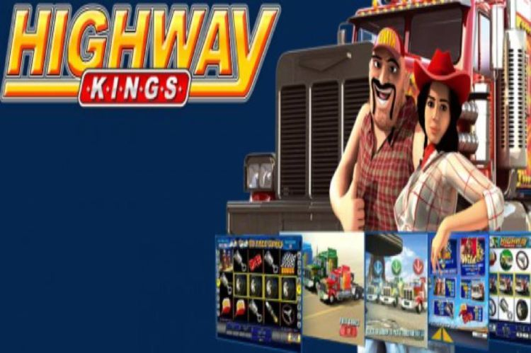 Highway Kings is an online slot game by 918Kiss/SCR888