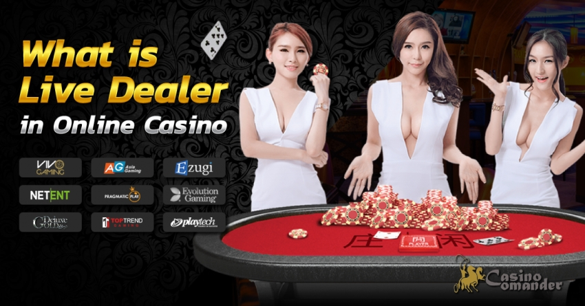 What is Live Dealer in Online Casino?