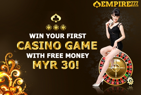 Best Free Credit RM30 to play in Online Casino Malaysia 2018