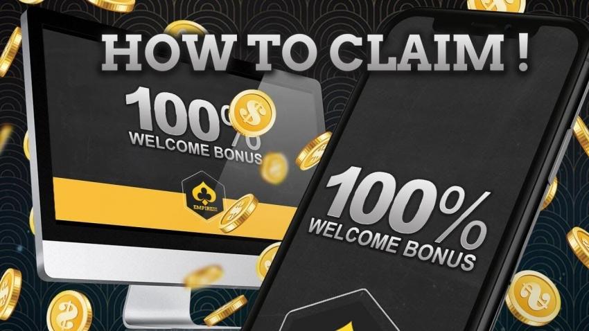 100% Welcome Bonus up to RM377 EMPIRE777 Malaysia (2020)