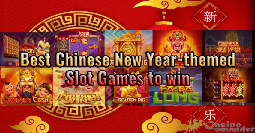 Best Chinese New Year-themed Slot Games to win